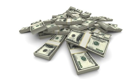 Falling Dollars (USD) Packs - Realistic - stock footage