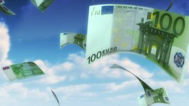 Money from Heaven - EUR (Loop) - motion graphic