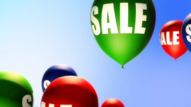 Balloons Sale (Loop) - motion graphic