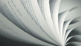 Turning Pages (Loop) Russian Book - editable clip, motion graphic, stock footage
