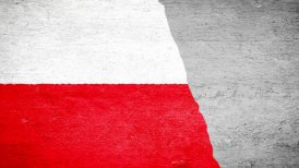 Painting Flag - Poland - motion graphic