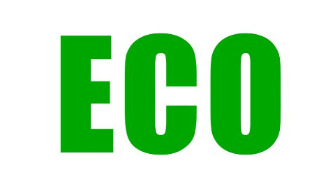 Eco Text - Roller Painting (Loop with Matte) - stock footage
