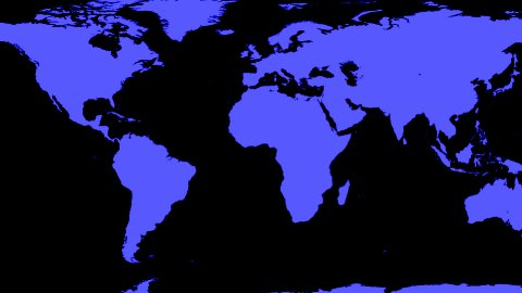 World Map Wraps to Spinning Globe (black background) - stock footage