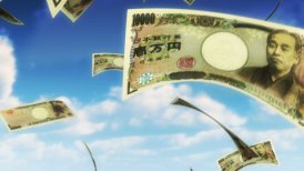 Money from Heaven - JPY (Loop) - motion graphic