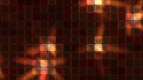Lights Shining Through Glass Tiles - Loop Red - stock footage