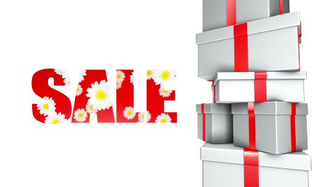 Sale Spring Summer Gifts (Loop) - stock footage