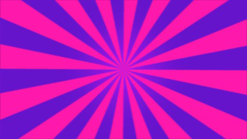 Rotating Stripes Background Animation - Loop Pink - stock footage