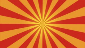Rotating Stripes Background Animation - Loop Red - motion graphic