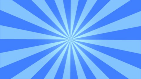 Rotating Stripes Background Animation - Loop Blue - stock footage