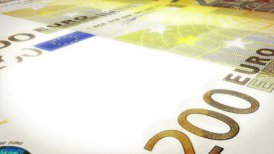 Euro Background (Loop) - editable clip, motion graphic, stock footage