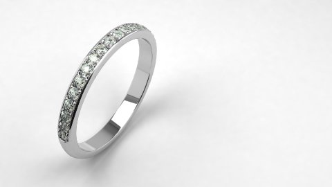 Diamond Wedding Ring - stock footage