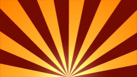 Rotating Stripes Background Animation - Loop Orange - stock footage