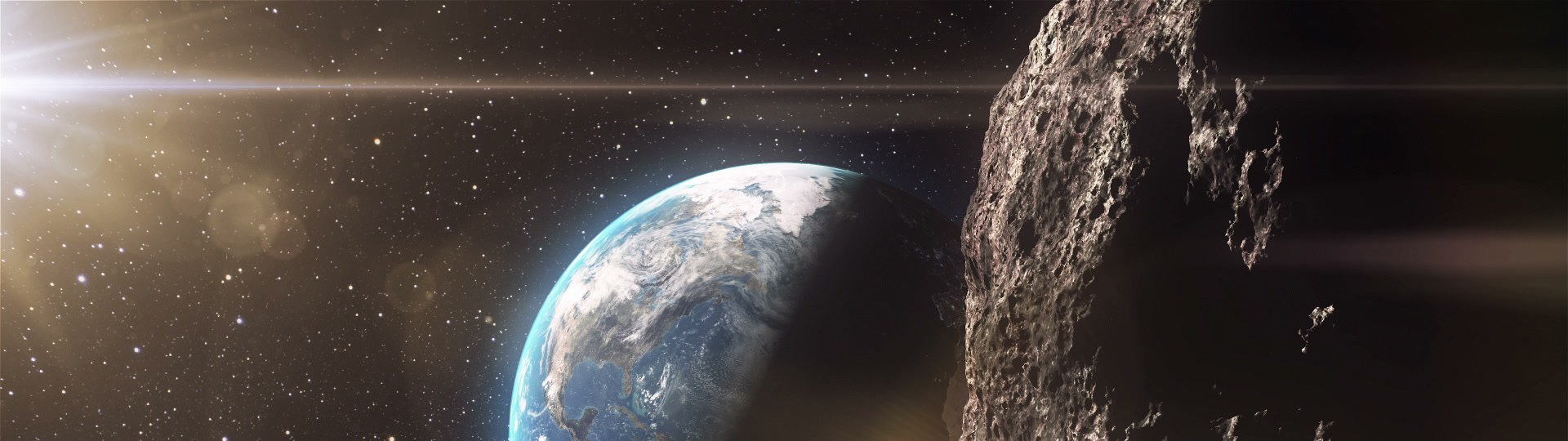 Asteroid | Huge asteroid approaching to the Earth - ID:22137
