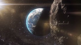 Asteroid - editable clip, motion graphic, stock footage