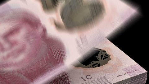 Counting Mexican Pesos - stock footage
