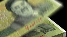 Counting Iranian Rial - motion graphic