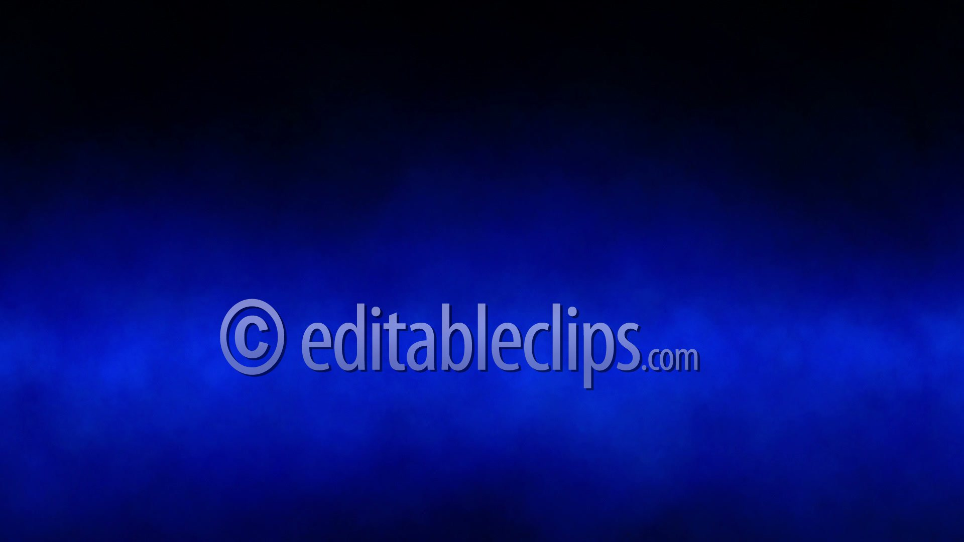 Blue Smoke Abstract Background Hd 1080 Editable Clips