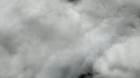 Stormy clouds, easy to loop, 4k - stock footage