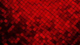 Red metallic square blocks background animation. Seamless loop. 4k - Ultra HD.