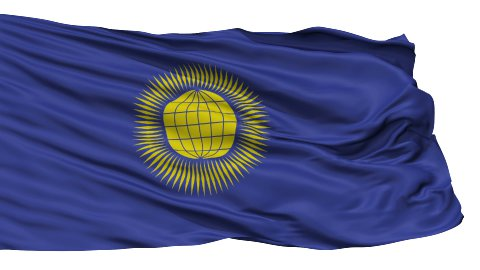 Isolated Waving Flag of United Commonwealth - stock footage