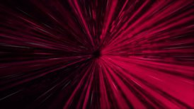 Colorful tunnel. Fast intensive flight through. - motion graphic