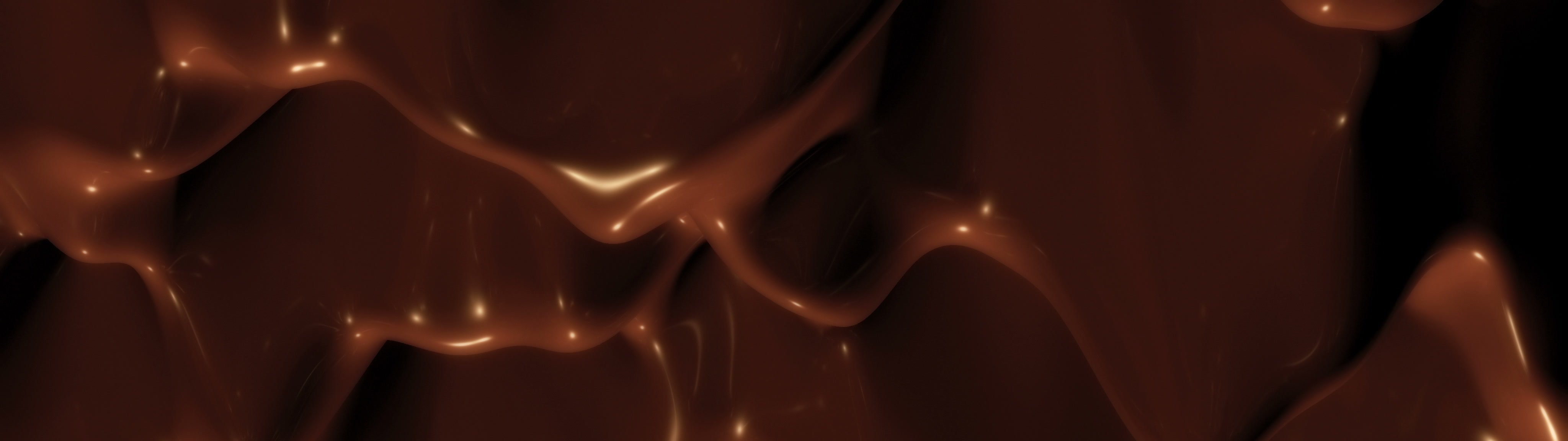 Liquid chocolate bacground. | Liquid chocolate bacground, 4k - Ultra HD. - ID:22864