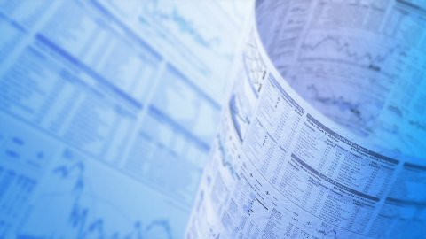 Financial chart background, LOOP, 4k - Ultra HD. - stock footage