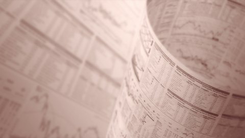 Financial chart background in sepia, LOOP, 4k - Ultra HD. - stock footage