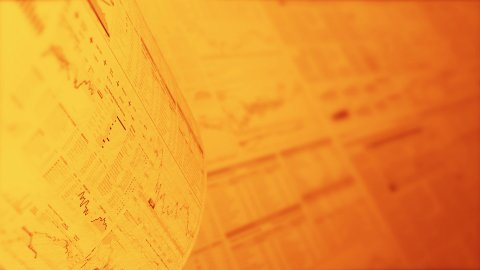Financial chart background in gold, LOOP, 4k - Ultra HD. - stock footage