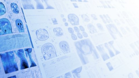 Medical, clinical background. - stock footage