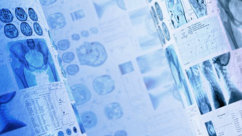 Medical, clinical background. LOOP. - stock footage