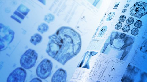 Medical background - stock footage