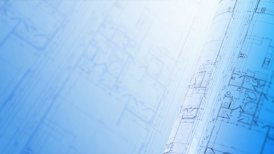 Construction Plans Background, Loop. - motion graphic