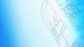 Architecture Blueprints. Seamless Loop. - motion graphic
