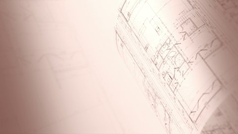 Architecture Plan. Loop. - stock footage