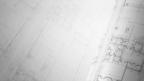 CAD concept. Architecture plan. Loop. - stock footage
