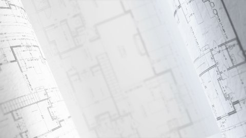 Architectural Plans Background, Architecture Blueprints. Loop. - stock footage