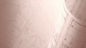 Architectural Background, Loop. - motion graphic