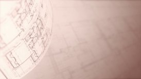 Architectural Plans Background, Loop. - motion graphic