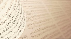 A Collection of High Quality Music Notes Texture, infinity LOOP. - motion graphic