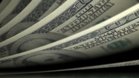 Cash counting. US Dollars (USD) banknotes. Easy to loop. - motion graphic