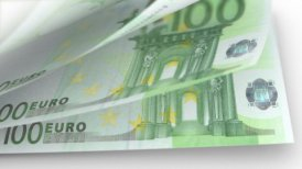 Cash Money Counting. Euro Banknotes. Easy to Loop. - editable clip, motion graphic, stock footage