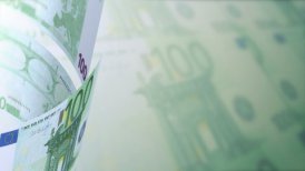 Euros Looped Motion Money Background - motion graphic