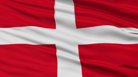 Sovereign Military Order of Malta Religious Close Up Waving Flag - stock footage