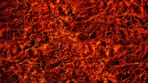 Magma, Molten Lava Flowing. - stock footage