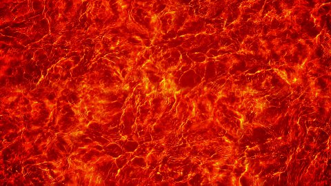 Red Volcanic Molten Lava - stock footage
