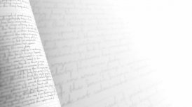 Close up of handwritten letter. Seamless Background Loop. - motion graphic