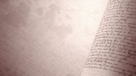 Close up of handwritten notes. Seamless background loop with Copy Space. - motion graphic