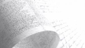 Pages covered in scrawls and doodle. Handwriting. Seamless Background Loop. - motion graphic