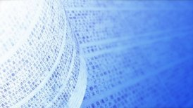 Close up of handwritten notes in Japanese. Seamless background loop in blue. - motion graphic